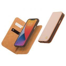 Moshi Overture - Etui 2w1 iPhone 12 Pro Max z kieszeniami na karty + stand up (system SnapTo) (Luna Pink)