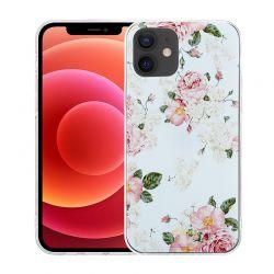 Crong Flower Case - Etui iPhone 12 Mini (wzór 02)