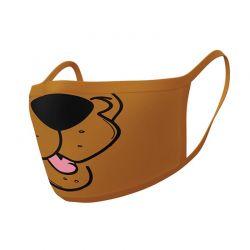 Scooby Doo - Maseczka ochronna 2 sztuki, 3 warstwy filtrujące