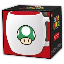 Super Mario - Kubek ceramiczny 380ml (biały)