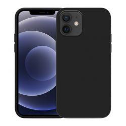 Crong Color Cover - Etui iPhone 12 Mini (czarny)