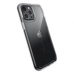 Speck Gemshell + Glass Bundle – Zestaw etui z ochroną MICROBAN + szkło ochronne na ekran iPhone 12 Pro Max