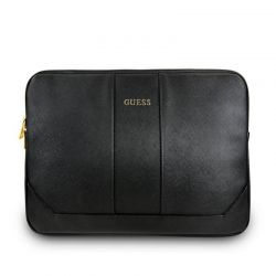 "Guess Saffiano Computer Sleeve – Etui na notebooka 13"" (czarny)"