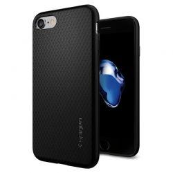Spigen Liquid Air - Etui iPhone SE 2020 / 8 / 7 (czarny)