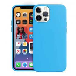 Crong Color Cover - Etui iPhone 12 Pro Max (niebieski) LIMITED EDITION