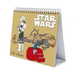 Star Wars - Klasyczny Kalendarz Biurkowy 2021