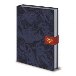 Superman - Notatnik / Notes A5 ze skóry ekologicznej