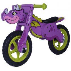 Rowerek Biegowy Dino Violet...