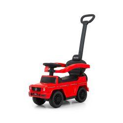 Pojazd z rączką MERCEDES G350d Red