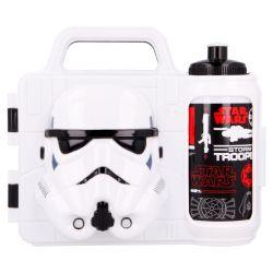 Star Wars - Zestaw lunchbox 3D + bidon (Trooper)