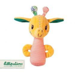 Lilliputiens - Mini grzechotka Żyrafka Zia