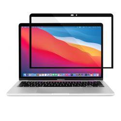 "Moshi iVisor XT - Folia ochronna na ekran MacBook Pro 13"" / MacBook Air 13"" (czarna ramka)"