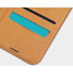 Nillkin Qin Leather Case - Etui Apple iPhone 12 Mini (Red)