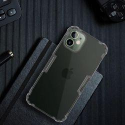Nillkin Nature TPU Case - Etui Apple iPhone 12 Mini (Dark Green)