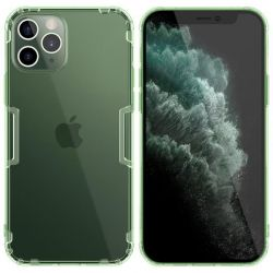 Nillkin Nature TPU Case - Etui Apple iPhone 12 / 12 Pro (Dark Green)