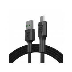 Green Cell PowerStream - Kabel Przewód USB-A - Micro USB 120cm szybkie ładowanie Ultra Charge, QC 3.0