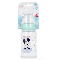 Mickey Mouse - Butelka ze smoczkiem 240 ml