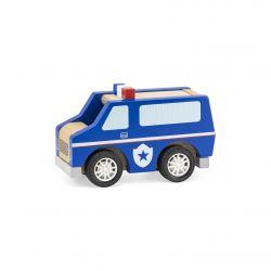 Viga 44513 Drewniane auto Policja