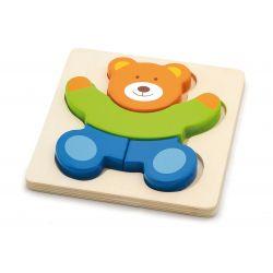 Pierwsze puzzle maluszka - miś