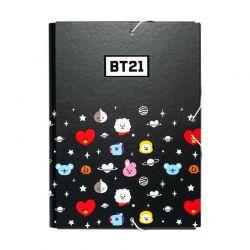BT21 - Folder / teczka z gumką