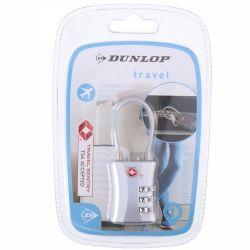 Dunlop - Kłódka na szyfr (Srebrny)