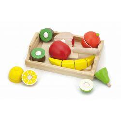 Owoce do krojenia na tacy