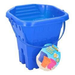 Eddy toys - Wiaderko do piasku Zamek 20cm (Niebieski)