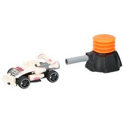 Gearbox - Samochodzik wystrzeliwany powietrzem (Biały)