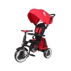 Qplay Rowerek Trójkołowy Rito Plus Red
