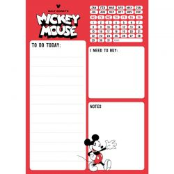 Mickey Mouse - Planner 54 strony A5