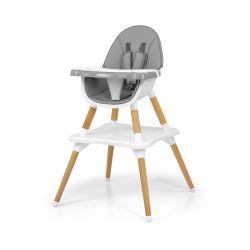 Milly Mally Krzesełko do karmienia 2w1 Malmo Grey
