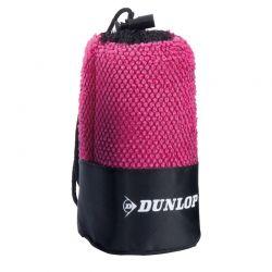 Dunlop - Ręcznik sportowy z mikrofibry (Różowy)