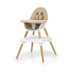 Milly Mally Krzesełko do karmienia 2w1 Malmo Beige