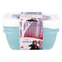 Frozen 2 - Zestaw pojemników na żywność 540ml (3szt.)
