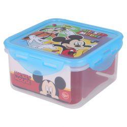 Mickey Mouse - Lunchbox / hermetyczne pudełko śniadaniowe 730ml