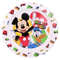 Mickey Mouse - Talerzyk deserowy (biały)