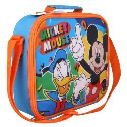 Mickey Mouse - Torba termiczna śniadaniowa z paskiem