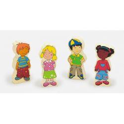 Figurki magnetyczne - dzieci
