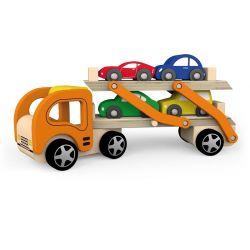 Auto laweta z samochodzikami
