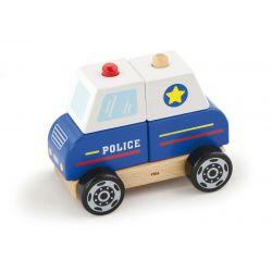 Klocki Auto Policyjne